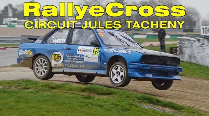 RallyeCross Lauf auf dem Circuit Jules Tacheny